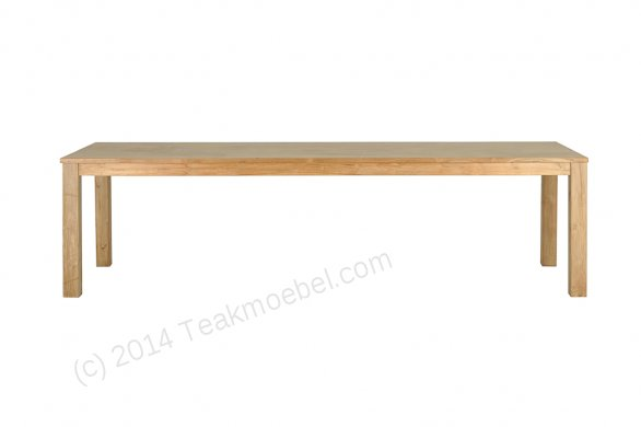 Teak table 300 x 100 cm - Picture 2
