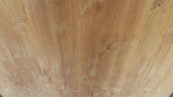 Square teak table 140x140 - Picture 2