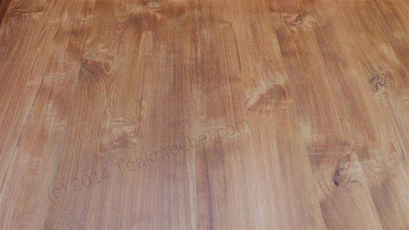 Square teak table 140x140 - Picture 3