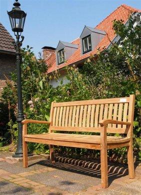 Teak garden bench 150 cm Beaufort - Picture 0
