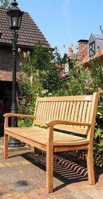 Teak garden bench 150 cm Beaufort - Picture 3