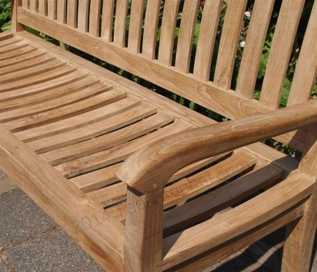 Teak garden bench 150 cm Beaufort - Picture 1