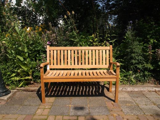 Teak garden bench 130 cm Beaufort - Picture 2