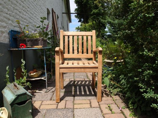 Teak garden chair Beaufort - Picture 7
