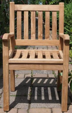Teak garden chair Beaufort - Picture 8