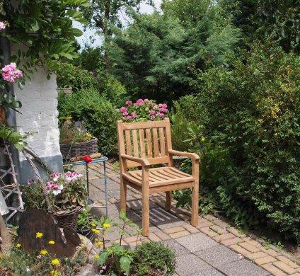 Teak garden chair Beaufort - Picture 5