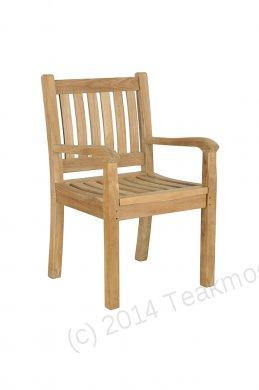 Teak garden chair Beaufort - Picture 9