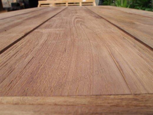 Teak garden table 200 x 100 cm - Picture 17