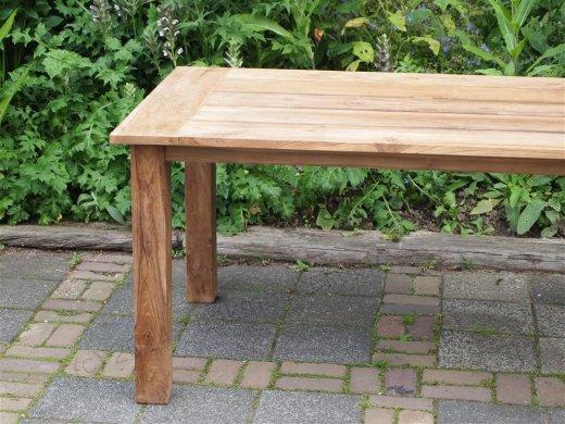 Teak garden table 200 x 100 cm - Picture 16
