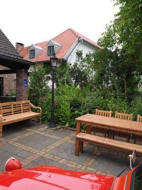 Teak garden table 220 x 100 cm - Picture 8