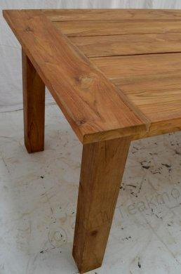 Teak garden table 400 x 100 - Picture 2