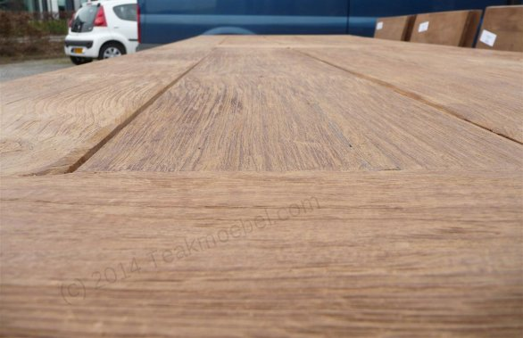Teak garden table 300 x 100 cm - Picture 2