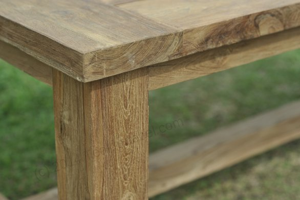 Teak garden table Mammoet 200x100 - Picture 4