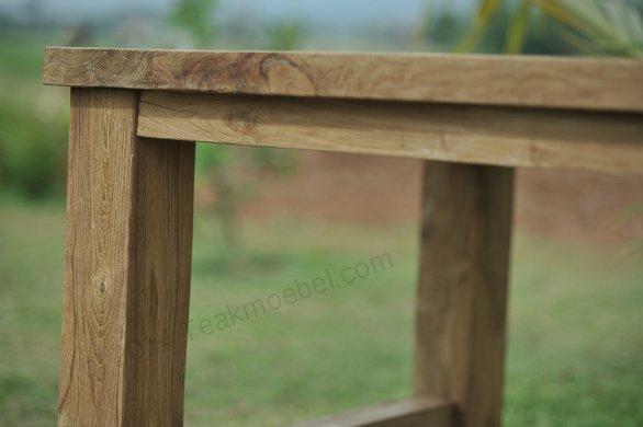Teak garden table Mammut 250x100 - Picture 3