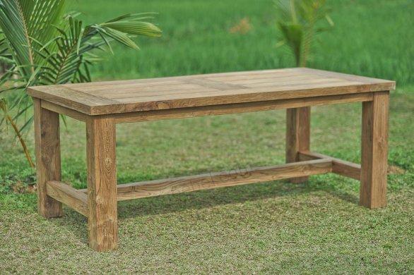 Teak garden table Mammut 250x100 - Picture 0