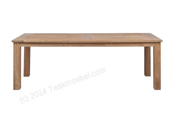 Teak garden table 260 x 100 cm - Picture 6