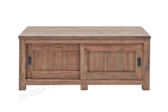 Teak tv-unit 140 x 50 x 50 cm - Picture 1