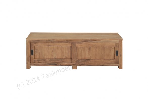 Teak tv-unit 160 x 50 x 50 cm - Picture 0