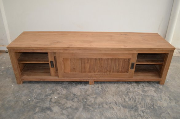Teak tv-unit 180 x 50 x 50 cm - Picture 5