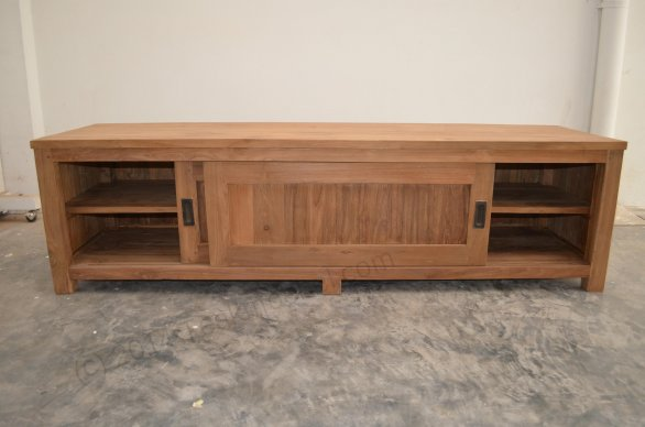 Teak tv-unit 180 x 50 x 50 cm - Picture 3