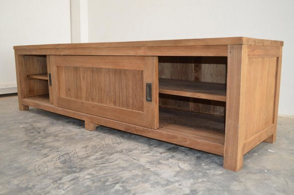 Teak tv-unit 180 x 50 x 50 cm - Picture 2