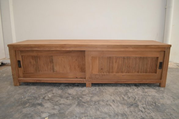Teak tv-unit 180 x 50 x 50 cm - Picture 1