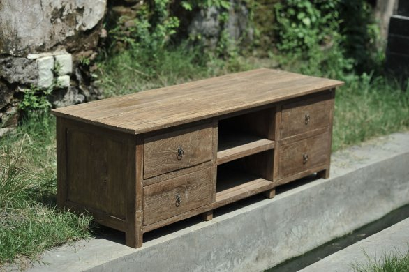 Teak tv-unit 150cm Dingklik - Picture 1