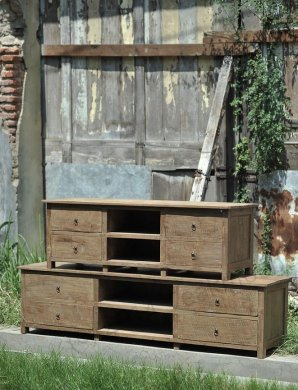 Teak tv-unit 150cm Dingklik - Picture 3