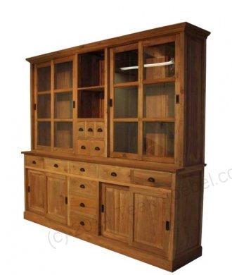 Teak cabinet 240cm - Picture 0