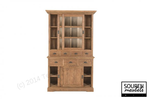 Teak display cabinet 130 dingklik - Picture 2