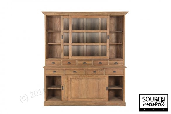 Teak display cabinet 200 dingklik - Picture 2
