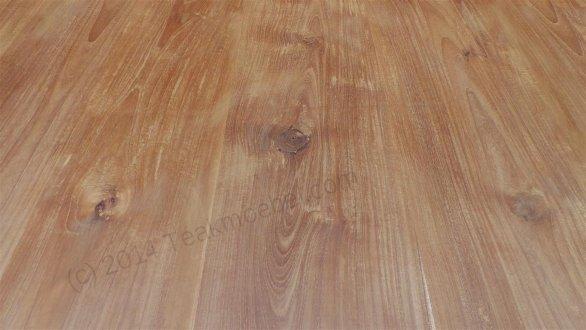 Square teak table 160x160 - Picture 1