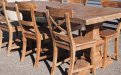 Teak refectory table 200x100cm - Picture 3