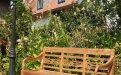 Teak station gardenbench 3-seater - Picture 1