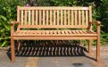 Teak garden bench 150 cm Beaufort - Picture 2