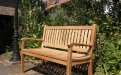 Teak garden bench 130 cm Beaufort - Picture 3
