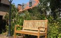 Teak garden bench 130 cm Beaufort - Picture 0