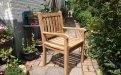 Teak garden chair Beaufort - Picture 0