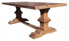 Teak refectory table 200x100cm