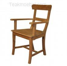 Teak armchair Mariotto
