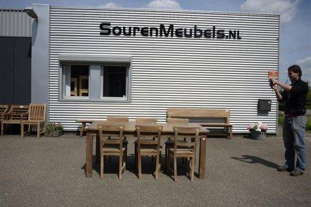 Teak table  200 - 250 - 300 x 100 cm reclaimed
