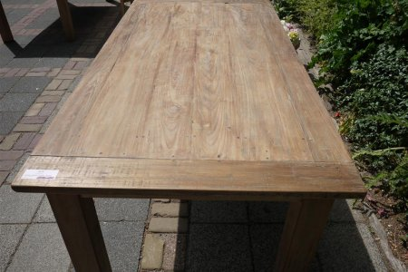 Teak table 180 x 90 cm reclaimed