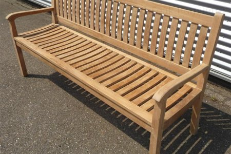 Teak garden bench 180 cm Beaufort