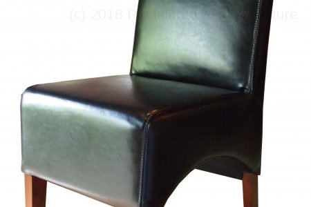 Leather Chair Black