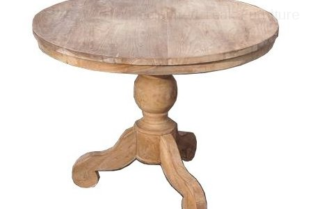 Round teak table Ø 100 cm