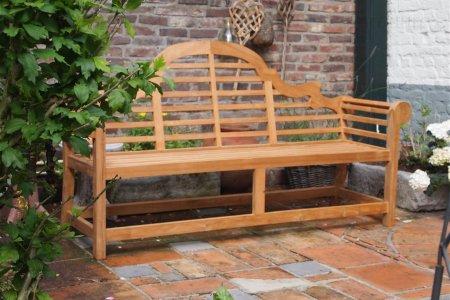 Teak garden bench Luytjens