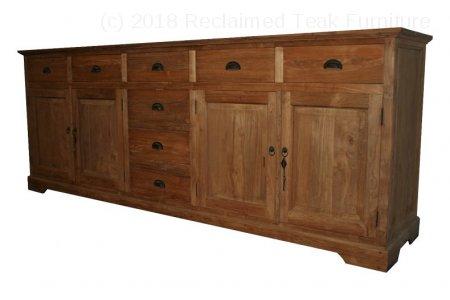Teak sideboard 250 x 90 x 50