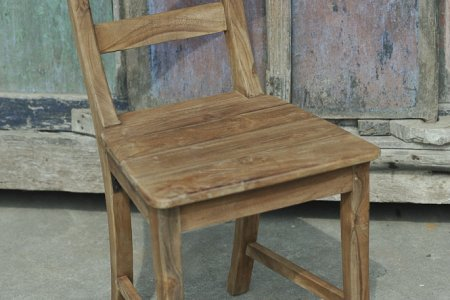 Teak chair Mariotto rustic