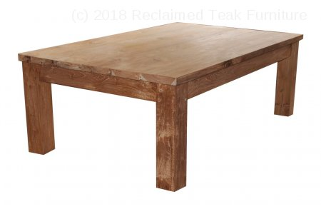 Teak coffeetable 120 x 80 cm