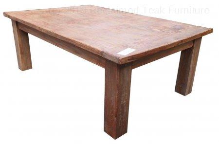 Teak coffeetable 120x80cm Dingklik